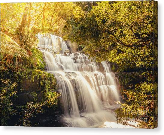 Sunny Day Canvas Print - Wet Dreams by Jorgo Photography - Wall Art Gallery