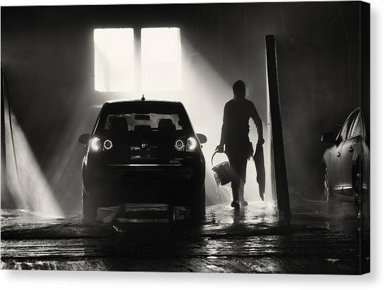 Winter Canvas Print - Wet,wet Wet by Julien Oncete