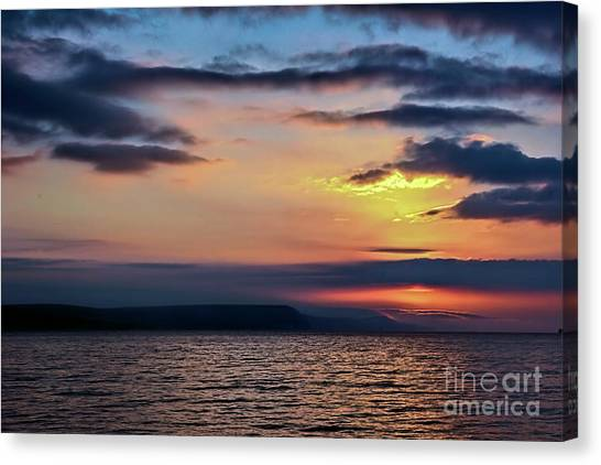 Weymouth Esplanade Sunrise Canvas Print