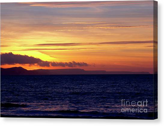 Weymouth To Purbeck Canvas Print