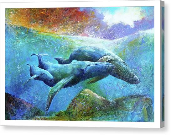 Whale Watch Canvas Print
