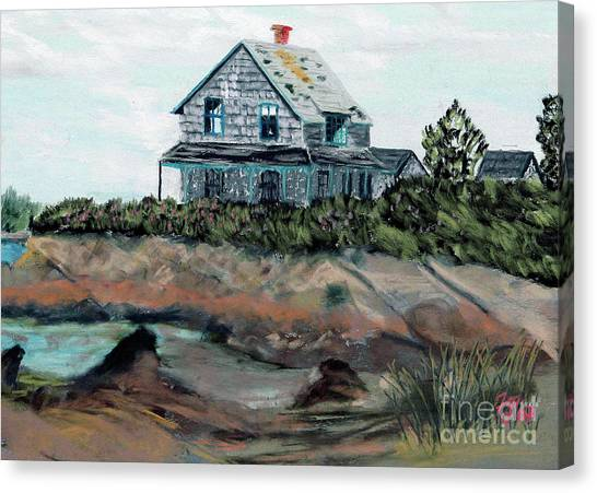 Whales Of August House Canvas Print