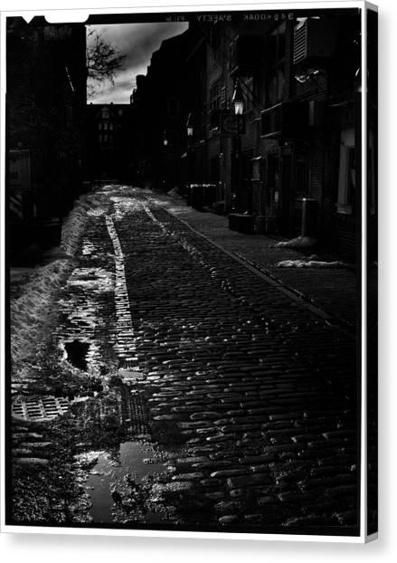 Wharf Street Canvas Print by Filipe N Marques