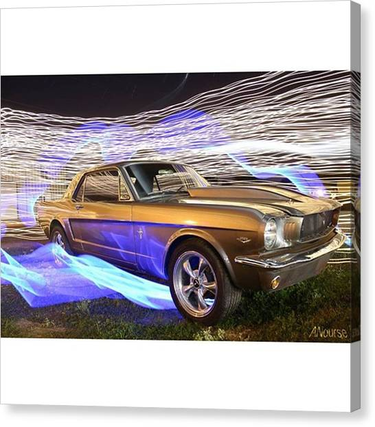 Car Canvas Print - What A Beauty! Just Look At Those by Andrew Nourse