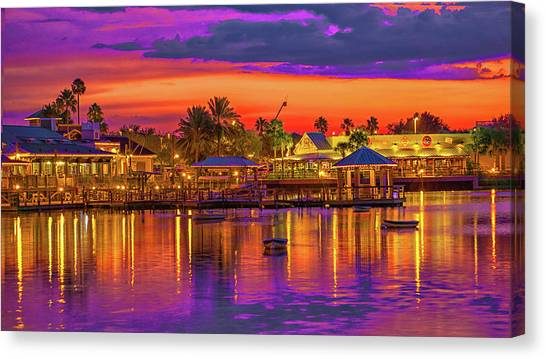 What A Night Canvas Print