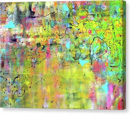 Canvas Print - What Ever by Jane Ferguson