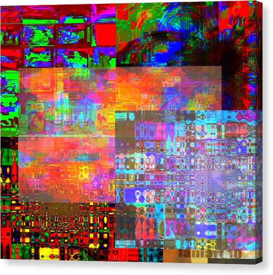 What If Nothing Was Really Something Canvas Print by Fania Simon