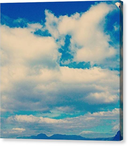 South African Canvas Print - What Is It About Clouds.  by Jacci Freimond Rudling