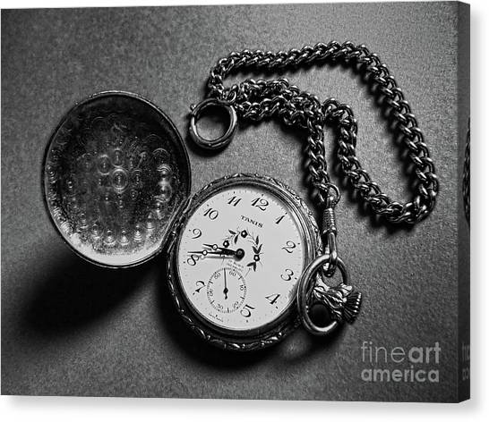 What Is The Time? Canvas Print