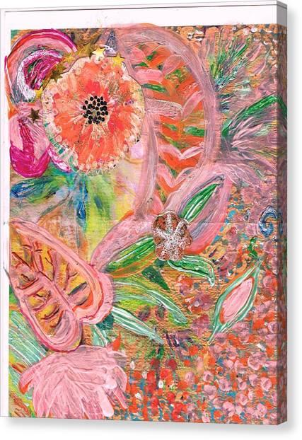 What Makes You Happy II Canvas Print by Anne-Elizabeth Whiteway
