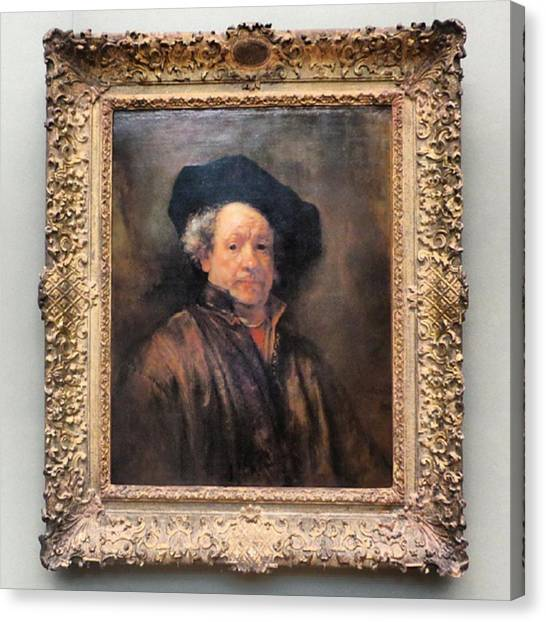 Rembrandt Canvas Print - What More Is Their To Say About This by Matt Sweetwood