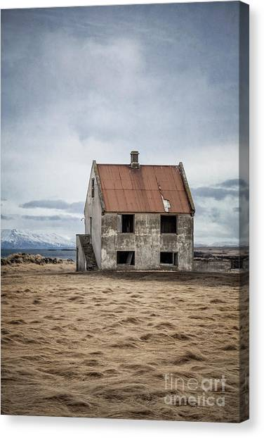 Derelict Canvas Print - What Once Was by Evelina Kremsdorf