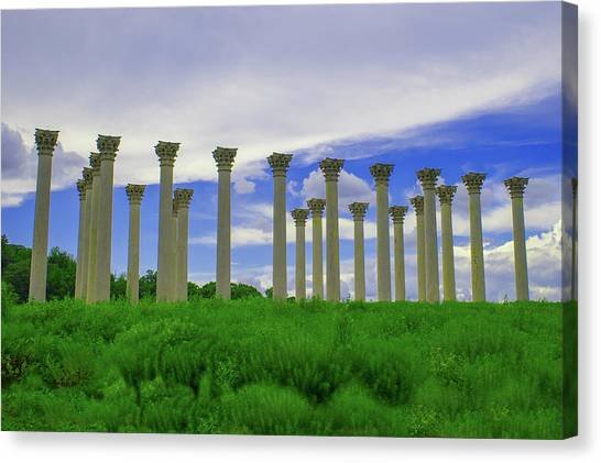 What Temple Is This? Canvas Print