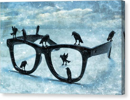 What The Crows Found Canvas Print