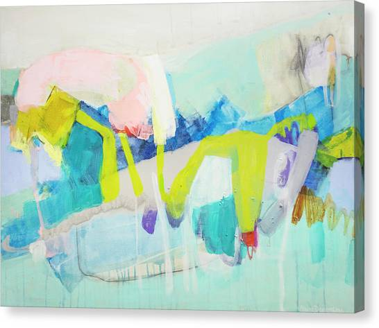 Canvas Print - Whatever Makes You Happy by Claire Desjardins