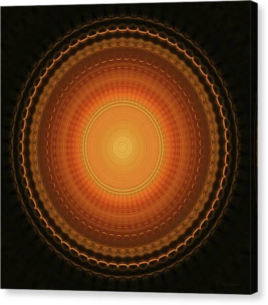 Wheel Kaleidoscope Canvas Print