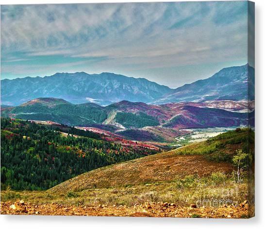 Wheeler Peak Canvas Print