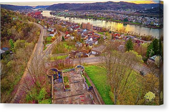 Ohio Valley Canvas Print - Wheeling Castle by Flying Dreams