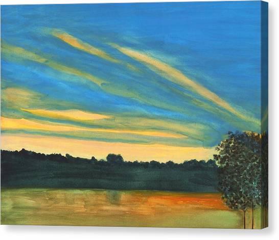 Wheeling Waterfront Canvas Print