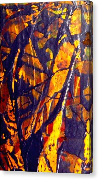When A Tree Falls Alone In A Forest 1 Canvas Print by Bruce Combs - REACH BEYOND