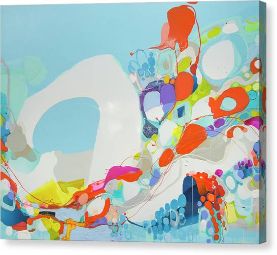 Canvas Print - When Alexa Moved In by Claire Desjardins
