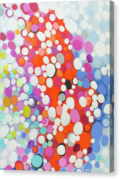 Canvas Print - When Day Turns To Night by Claire Desjardins