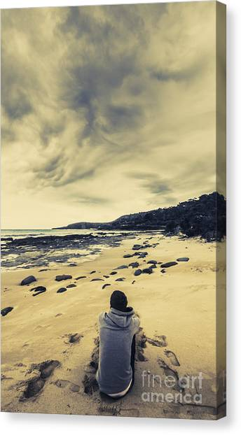 Calm Down Canvas Print - When Dreamers Dream by Jorgo Photography - Wall Art Gallery