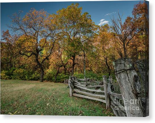 Appalachian Mountains Canvas Print - When First Unto This Country by DiFigiano Photography