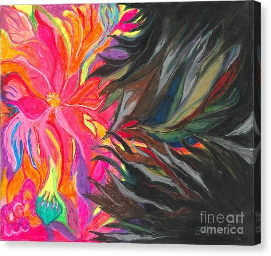 Ania Milo Canvas Print - When Pain Comes by Ania M Milo