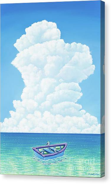 When Three Is Not A Crowd Canvas Print