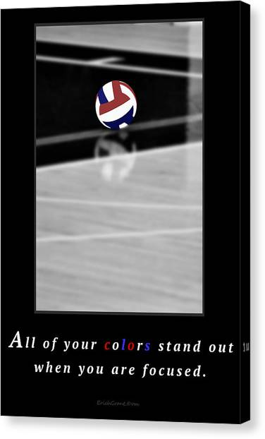 When You Are Focused Canvas Print