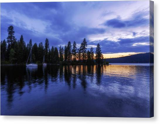 Idaho Canvas Print - Where Are The Ducks? by Chad Dutson