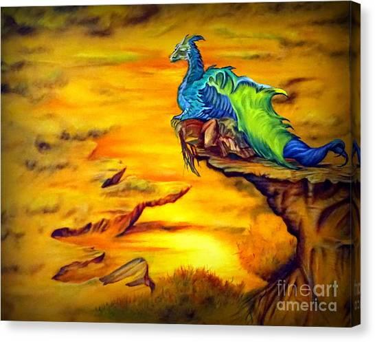 Dragons Valley Canvas Print