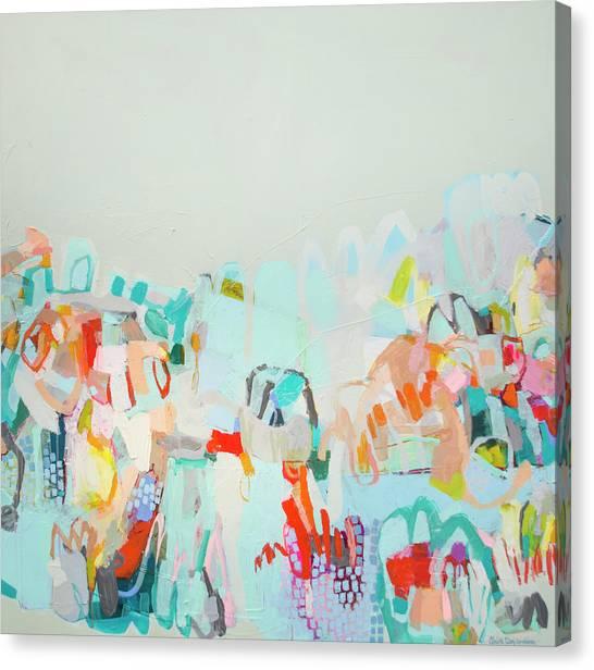 Canvas Print - Where Friendship Lives by Claire Desjardins