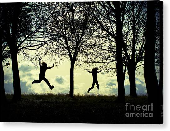 Where My Wild Things Are Canvas Print by Catherine MacBride