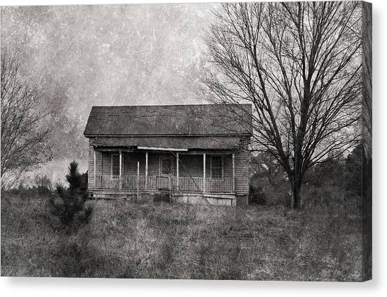 Abandoned House Canvas Print - Where Nobody Lives by Kim Hojnacki
