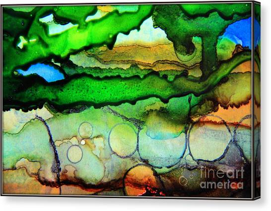 Where The Rivers Flow.. Canvas Print