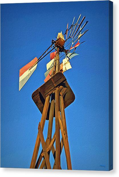 Which Way The Wind Blows Canvas Print