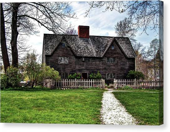 The John Whipple House In Ipswich Canvas Print
