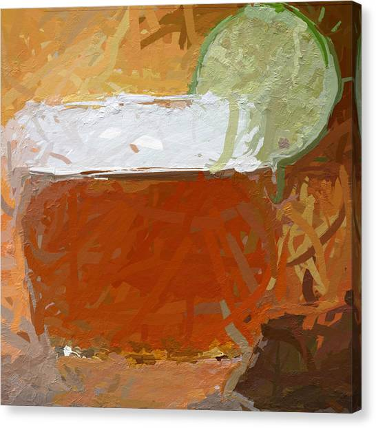 Canvas Print - Whiskey Sour by Modern Art