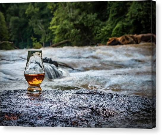 Whisky River Canvas Print