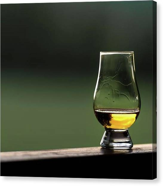 Scotch Canvas Print - #whisky #whiskey #drink #natur #scotch by Fink Andreas