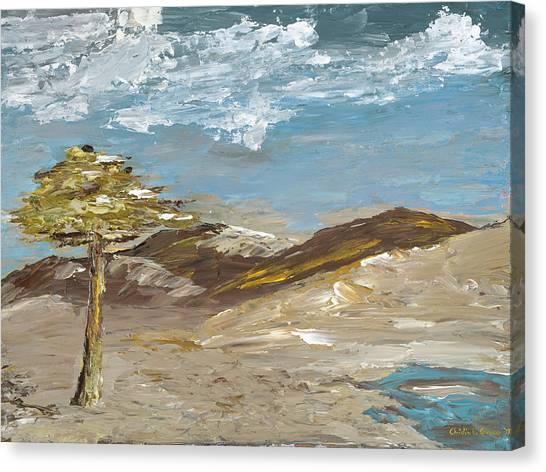 Whispering Dunes Canvas Print