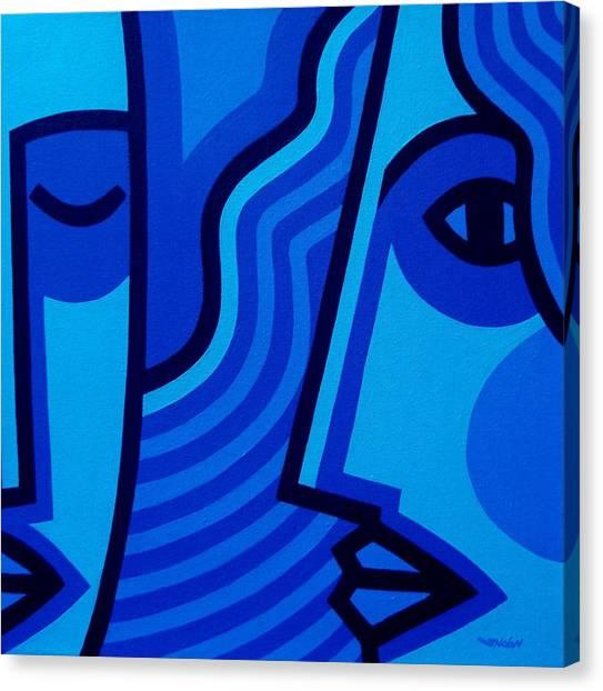 Whispers Canvas Print by John  Nolan