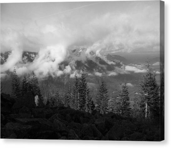 Whispy Canvas Print by Mark Camp