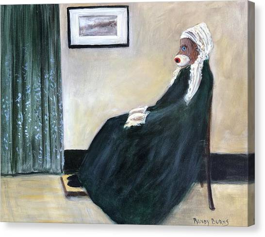 Whistlin Mother Canvas Print