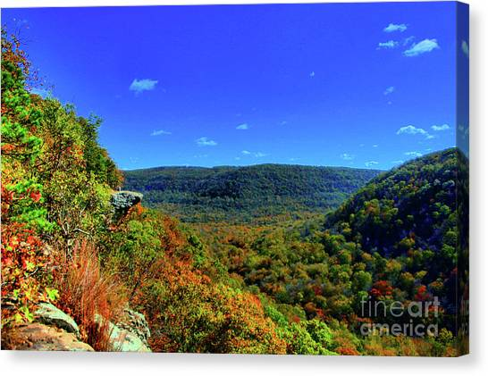 Whitaker Point Canvas Print by Kevin Kuchler