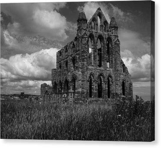 Whitby Abbey, North York Moors Canvas Print