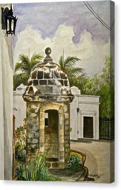 White House-garita Canvas Print by George Bloise