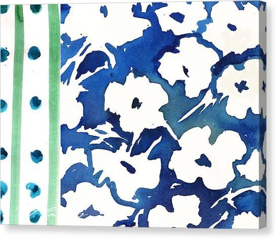 White Impatients Graphic Canvas Print by C'est La Viv